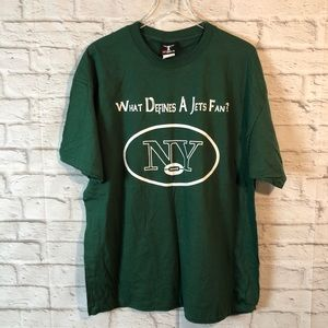 NEW YORK JETS Football Fan T Shirt XL